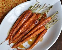 Glazed Root Vegetables Recipe - bourbon glazed roasted carrots recipe a veggie venture