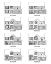builders floor plans the chelsea elevation options by garman builders floor plans