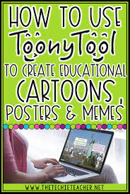Create Free Memes - how to use toony tool to create educational cartoons posters or