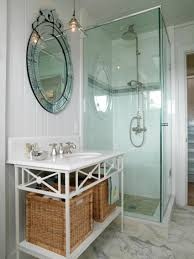 bathroom shower small spaces black marble floor ideas remodel