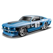 amazon com maisto r c 1 24 scale 1967 ford mustang gt radio