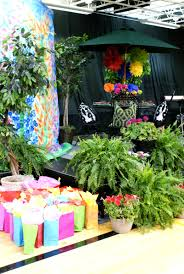 spring ideas spring luncheon stage and table decoration ideas dimples and