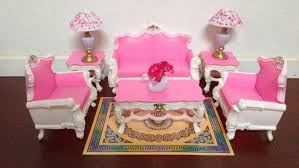 livingroom accessories amazon com gloria barbie sized deluxe living room furniture
