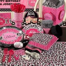 cheetah print party supplies print a party zebra print birthday party favors 464435 printable