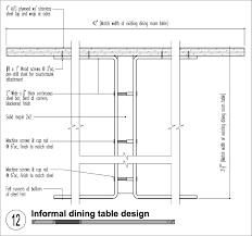 dining room table width dining table size prepossessing design