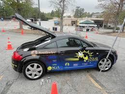 audi tt electric solar jackets students convert audi tt into solar electric car