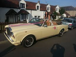 roll royce wedding rolls royce corniche convertible wedding car hire