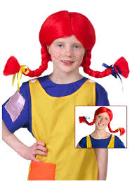Pippi Longstocking Costume Pippi Wig
