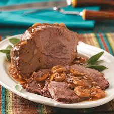 beef sirloin tip roast recipe taste of home