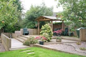 exterior intelligent small front yard landscaping design for