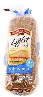 pepperidge farm light bread pepperidge farm light soft wheat bread 16 oz pack of 2 amazon com