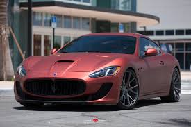 maserati gt 2015 maserati granturismo mc stradale kicks back on custom wheels w video