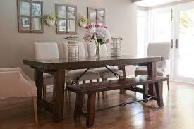 Dining Room Chairs Dallas Sparkling Driftwood Dining Table With Wood Stool White Cabinets