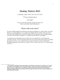 destiny matrix 2012 jack sarfatti string theory physics