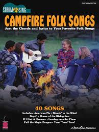 amazon com hal leonard campfire folk songs easy guitar