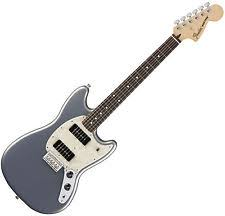 fender mustang guitar fender mustang 90 electric guitar silver 0144040581 ebay