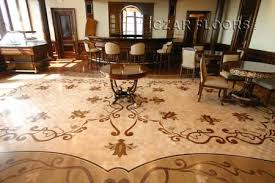 wood floor medallions inlays wood borders and parquet