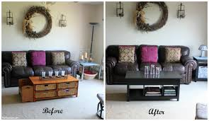 small living room makeover before and after u2013 modern house