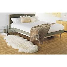 2 X 6 Rug Amazon Com Sheepskin Rug Double Pelt Natural White Fur 2x6