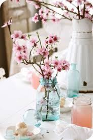 best 25 cherry blossom centerpiece ideas only on pinterest