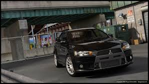 evo mitsubishi black evox black by dangeruss on deviantart