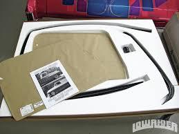 Classic Ford Truck Glass - electric one piece window install lowrider magazine