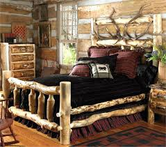king log bed frame log bed frame with carved horses if they made