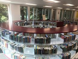 modern public library shelving archives bci