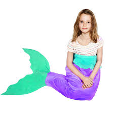 mermaid tails for halloween amazon com battop mermaid tail super soft blanket crystal velvet
