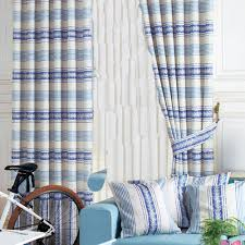 Navy Blue And White Horizontal Striped Curtains Curtain Inspiring Blue Striped Curtains Fascinating Blue Striped