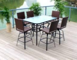 patio ideas patio bar furniture canada bar height patio set with