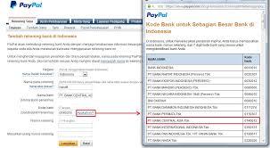 teks prosedur membuat rekening bank cara menarik dolar dari rekening paypal ke bank lokal indonesia
