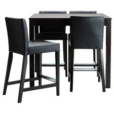 Bar Stools Ikea Bernhard Chair by Bjursta Henriksdal Bar Table And 4 Bar Stools Ikea I Want A