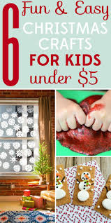 6 fun and easy christmas crafts for kids under 5 craft frugal