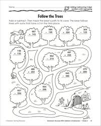 3 digit subtraction with regrouping coloring worksheets worksheets