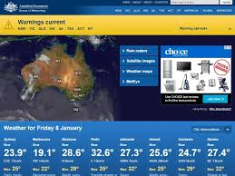 bureau of metereology bureau of meteorology website restored after crash some delays in