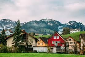 quaint town of brulisau switzerland appenzellerland travel