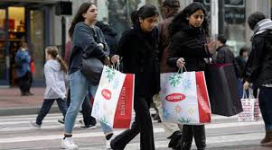 us thanksgiving black friday store sales fall rises the