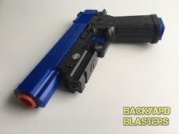 detective m1911 nerf foam dart gun colt 45 acp backyard