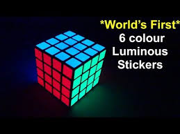 glow in the stickers world s luminous glow in 6 col sticker sets