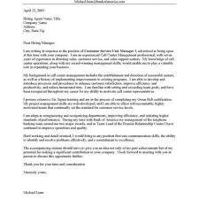 Writing An Open Cover Letter Sample Cover Letter For Call Center Representative Gallery Cover