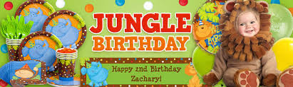 jungle themed birthday party jungle birthday party ideas supplies and decorations