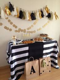 Black And Gold New Year Decorations by Best 25 Black White Parties Ideas On Pinterest Black Party