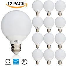 simply conserve light bulbs simply conserve l406g2527k energy star dimmable g25 globe 6w led