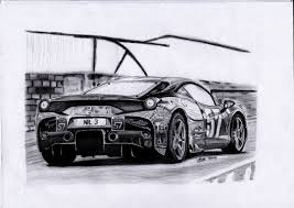 car ferrari drawing ferrari 458 speciale mullart draw to drive