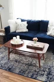 sofas center navy blue slipcovered sofanavy sofa set peach and
