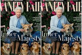queen elizabeth dog queen elizabeth ii her dogs cover the latest issue of vanity