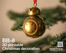 Style Tree Ornaments 3ders Org Bring A Wars Style Into Your Home With