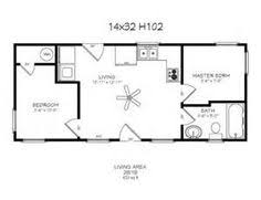 cabin floorplans 14 x 40 floor plans with loft model 107 16x40 640 8 windows