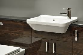 bathroom with wallpaper ideas bathroom wallpaper high resolution gloss exotic walnut slimline